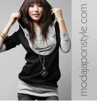 Japon Style Bayan Sweatshirt