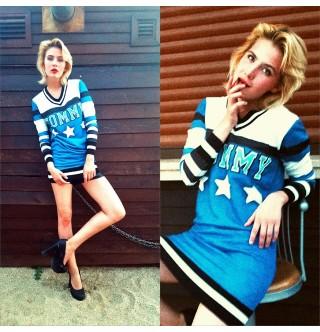 Japon Style Tunik Sweatshirt