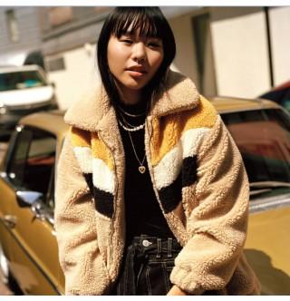 Japon Style Dört Renk Sweatshirt