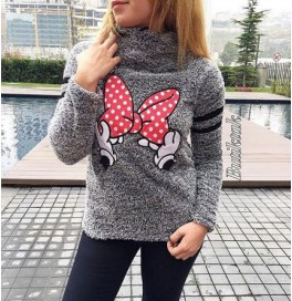 Japon Style Mickey Mouse Peluş Sweat
