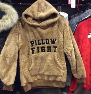Japon Style Pillow Fight Sweatshirt