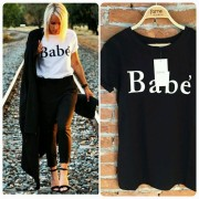 Japon Style Babe Tişört Tshirt