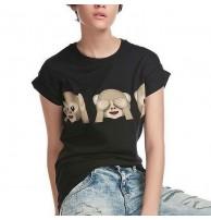 Japon Style 3 Maymun Tshirt