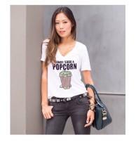 Japon Style Tişört Popcorn