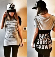 Japon Style Uzun Tshirt Boys