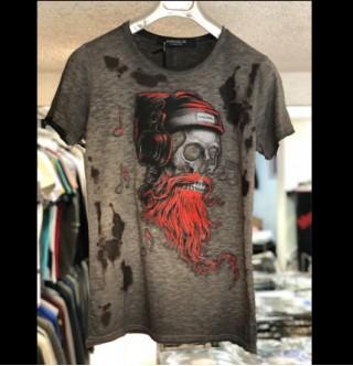 Japon Style Erkek Tshirt - Kurukafa Tshirt tişört