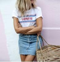 Japon Style Levis Tshirt