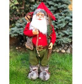 Çalı Toplamış Noel Baba Figürü 65-70 cm, Yılbaşı Hediyesi