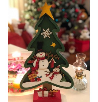 Yeni Yıl Hediyesi, Deluxe Dekoratif Yılbaşı Ağacı, Yeşil